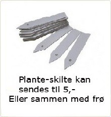 Plante-skilte