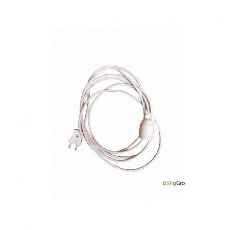 E27 fatning m/ 3,5 ledning Til vækstlys / plantelys, m/m