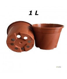 Teglrød potte Ø13