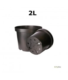Potter Ø17 2 L Sort planteskolepotte