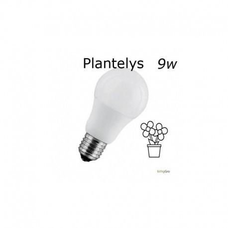 9W Hvid plantelys / vækstllys pære 990 LUX 270°