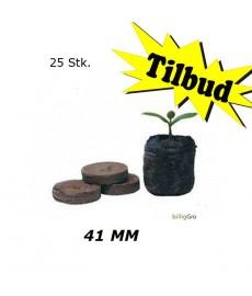 . Jiffy-7 Tørvebriketter i 41 mm.