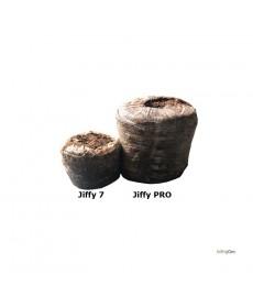 16 stk. 52 mm Jiffy PRO Tørvebriketter.