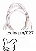 Leding med E27 fatning